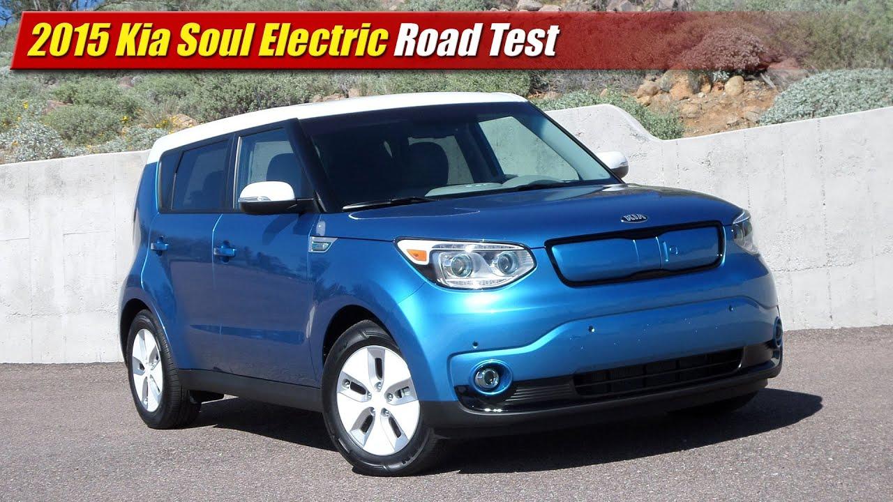 2015 Kia Soul Electric Road Test