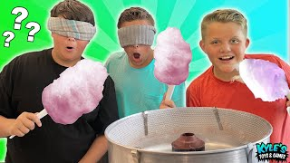 Cotton Candy Mystery Flavor Challenge