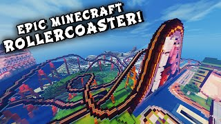 Minecraft Maps - EPIC ROLLERCOASTER! (When Pigs Fly Rollercoaster)