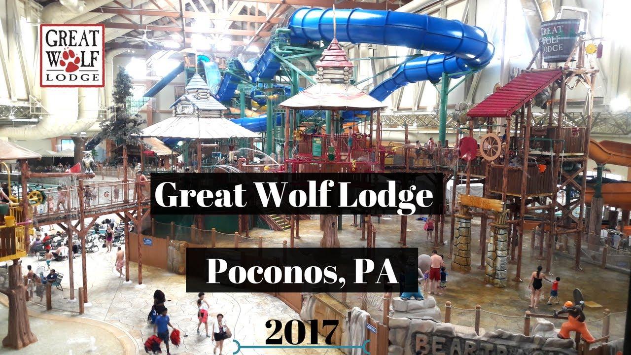 Great Wolf Lodge 2017 Poconos Pa Hotel Room Tour