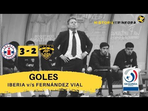 GOLES / IBERIA (3) v/s FERNÁNDEZ VIAL (2) / SEGUNDA DIVISIÓN 2019