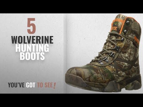 Top 10 Wolverine Hunting Boots [2018 ]   New & Popular