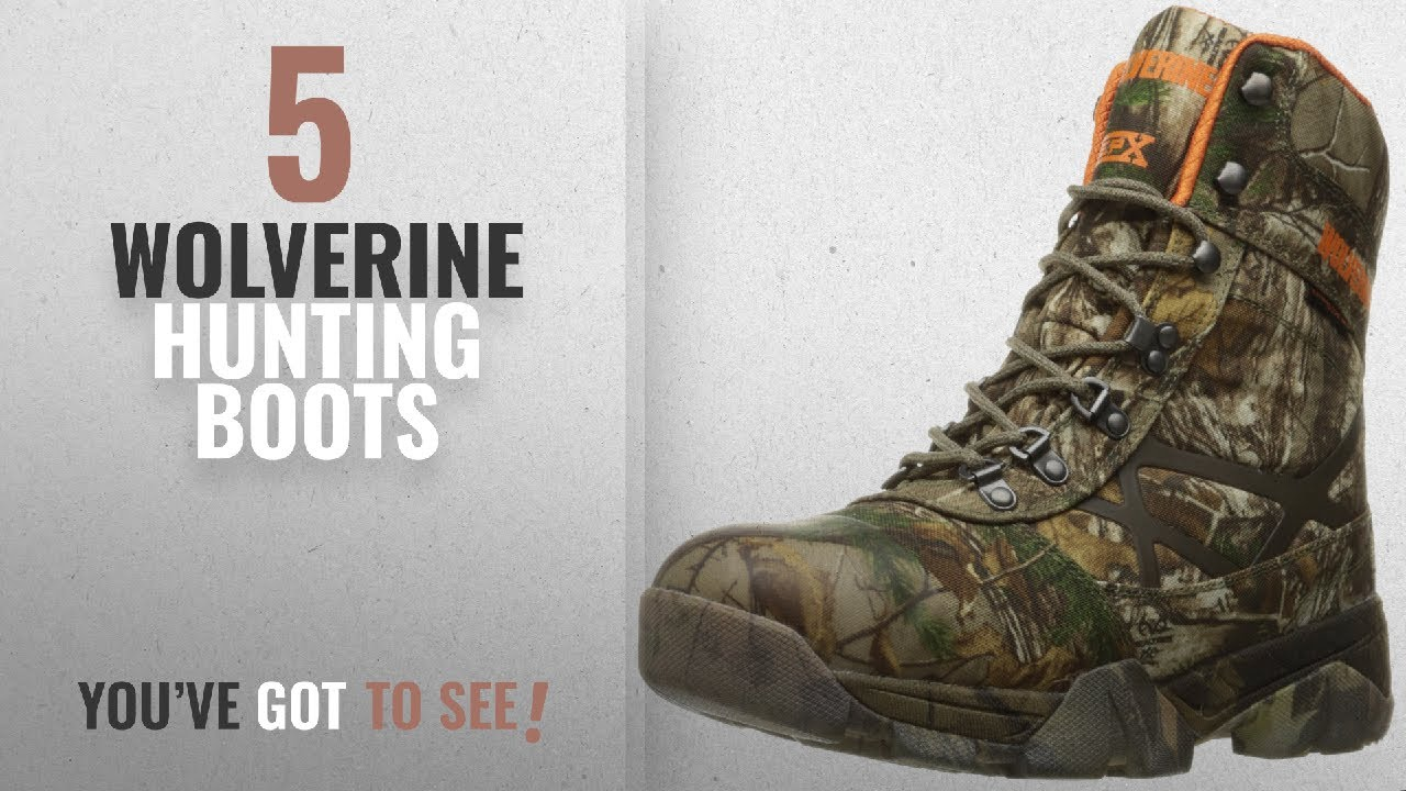 b91ced8541b Top 10 Wolverine Hunting Boots [2018 ] | New & Popular