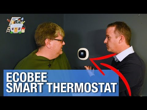 Ecobee Smart Thermostat Review | THE HANDYGUYS