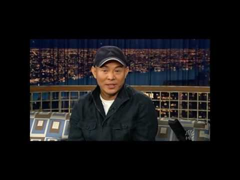 "Jet Li on ""Late Night with Conan O'Brien"" - 5/6/05"