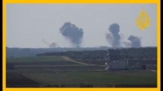 مقتل ٣٣ جنديا تركيا في غارات استهدفت تجمعا عسكريا في ريف إدلب