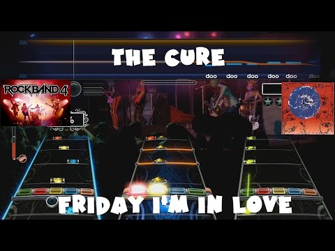 The Cure - Friday I'm in Love - Rock Band 4 Main Setlist Expert Full Band