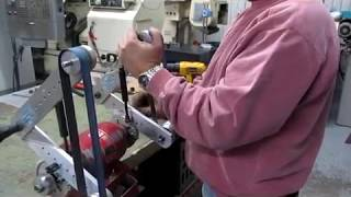 How To Use Belt Sander Multi Fonction,magic Sander ,belt Sander