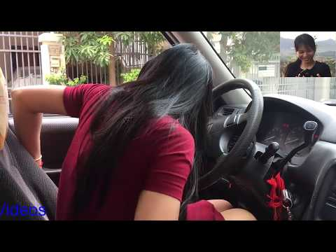 Driving barefoot | Learn to drive car #4