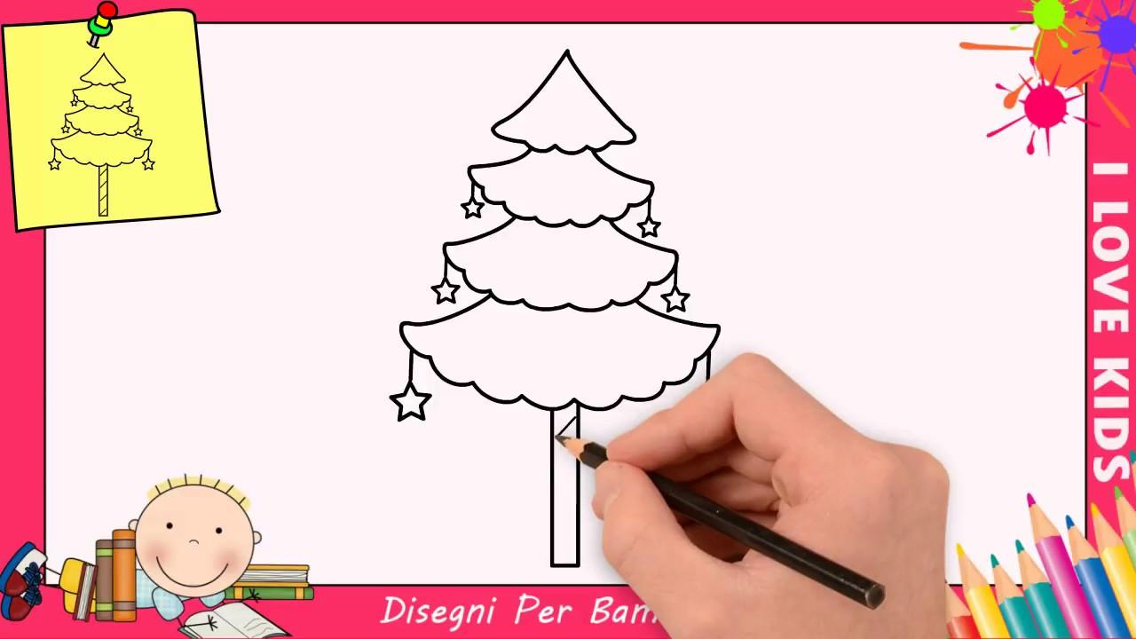 Come Disegnare Un Albero Di Natale Stampae Colorare