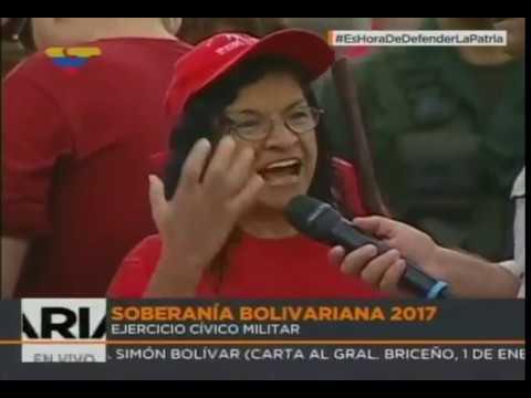 Ministra de Cultura desde los Ejercicios Soberanía Bolivariana 2017