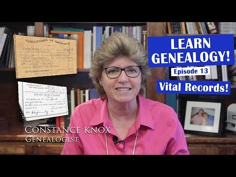 Vital Records: (Where To Find Birth, Marriage, Death And Divorce Records For Genealogy)
