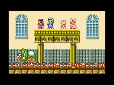super mario bros 2 wart battle