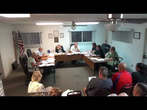 09/19/16 Village of Holiday Hills Board Meeting.