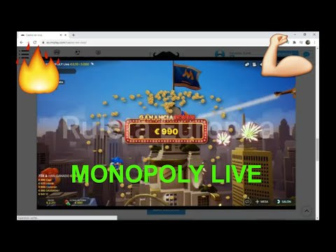 Increíble partida de MONOPOLY LIVE !! ✅  CASINOS ONLINE CONFIABLES