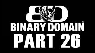 Binary Domain Playthrough Part 26 Defeat Gorilla First Battle Part 2