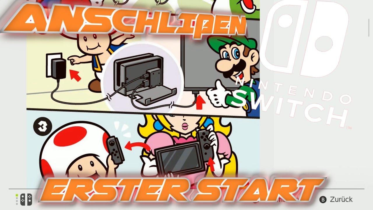 Nintendo Switch Anschließen