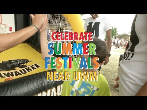 Celebrate summer festivals minutes away from UWM