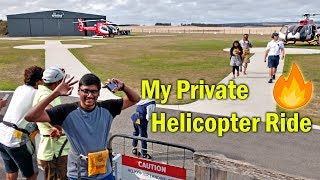 My Private Helicopter Ride...