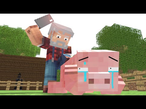Thumbnail: Pig Life - Craftronix Minecraft Animation