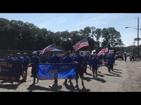 IBEW Local 94 Marches in the South Plainfield, NJ Labor Day Parade