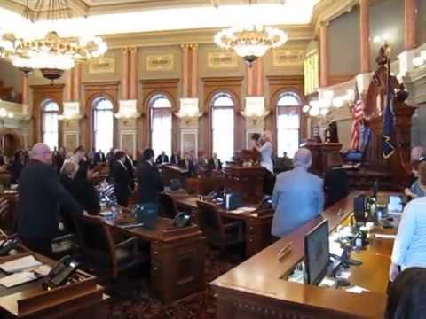 Kansas State House of Representatives Convening Prayer
