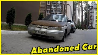 Abandoned Russian Car Lada 112. Finding Abandoned Vehicles 2018. Lost Cars 2018