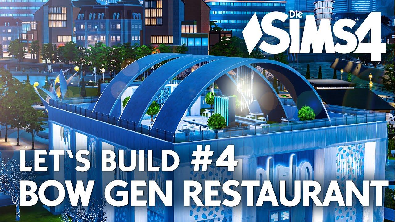 Die sims 4 gaumenfreuden release showcase restaurant gameplay pack - Die Sims 4 Let S Build Restaurant Bow Gen Bauen 4 Deutsch Youtube