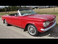 1964 Chevy Corvair Monza 110 Convertible American classic car