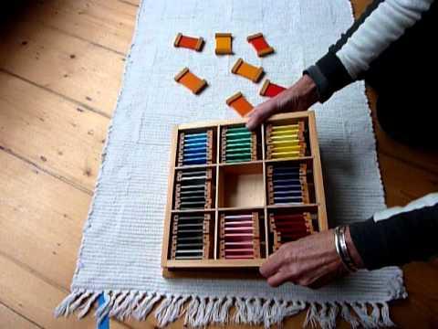 Montessori colourbox 3