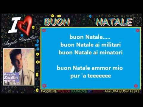 Auguri Di Buon Natale Karaoke.Angelo Cavallaro Buon Natale Karaoke