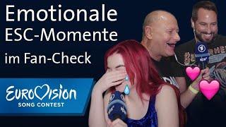 Fans kommentieren die emotionalsten ESC-Auftritte | Eurovision Song Contest