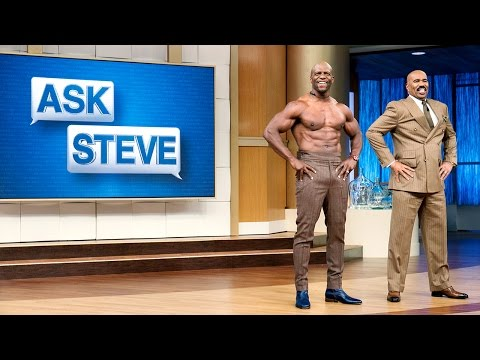Ask Steve: My husband is out of shape || STEVE HARVEY