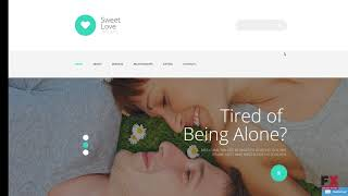 LoveStory - Dating WordPress Theme | Website Templates and Themes
