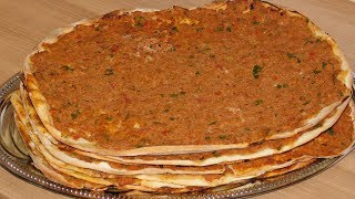 Лахмаджун. Турецкая пицца Lahmacun.