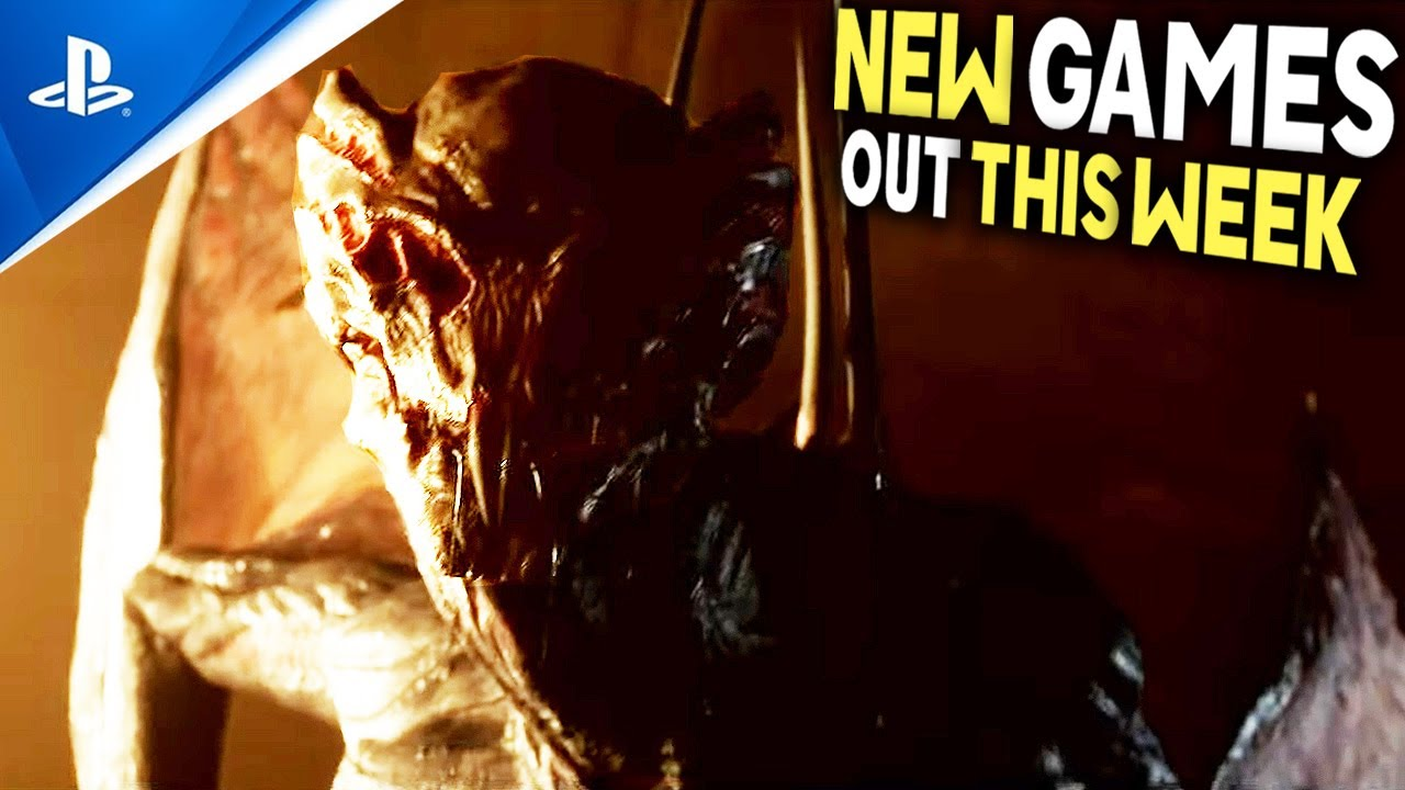 Download 6 NEW PS4/PS5 GAMES OUT THIS WEEK - New RPG, New HORROR Games, New JRPG + More New Games!