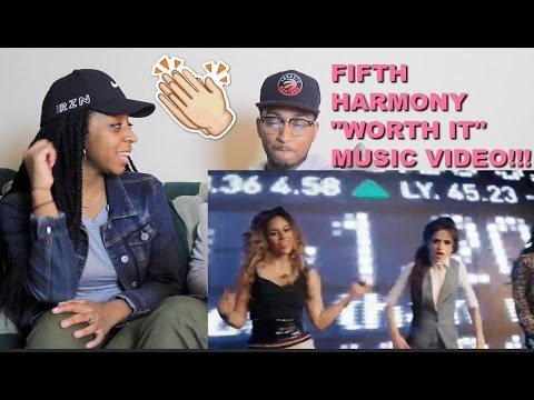 Couple Reacts : Fifth Harmony Worth It ft Kid Ink Reaction!!!