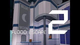Roblox Flood Escape 2 (Mapa de prueba) - Blue Moon (Amazing Crazy)(Update ver.)