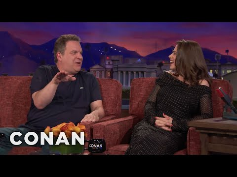 Jeff Garlin Hijacks The Hayley Atwell    CONAN on TBS