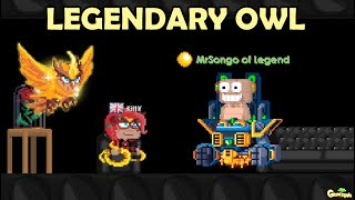 Made First Legendary Owl with 2500 DLS (HOW!?!!)   GrowTopia