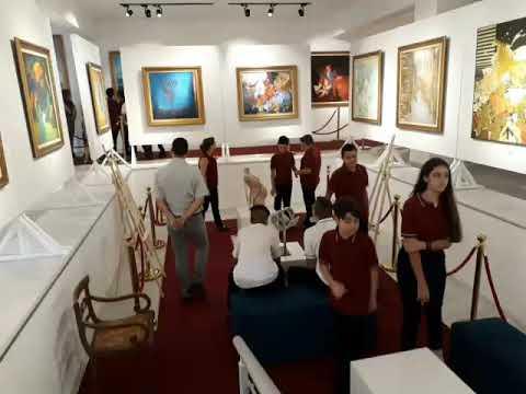 Yakın Doğu Koleji Gözlem ve Araştırma Kulübü YDÜ Kıbrıs Modern Sanat Müzesini gezdi.