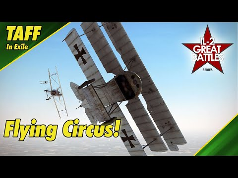IL-2 Flying Circus    Spring Campaign    Sopwith Camel First Flight