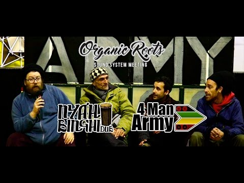Entrevista 4 MAN ARMY SOUND SYSTEM (AC Organic Roots)