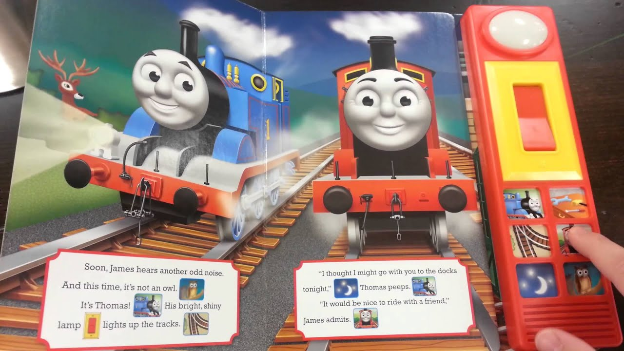 Thomas friends a night light for thomas play a sound book youtube publicscrutiny Image collections