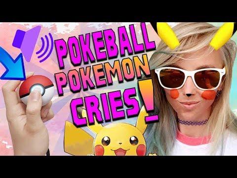 TRY GUESSING THESE Pokémon! Pokéball Plus Pokémon CRIES!