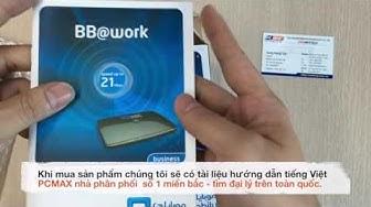 Bộ phát wifi bằng 3G Huawei B683 - PCMAX