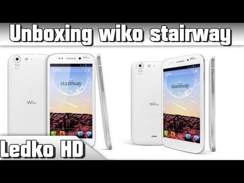 [UNBOXING] Wiko Stairway (HD)
