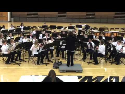 Parkside Junior high school 6th grade cadet band: Fighting Falcon