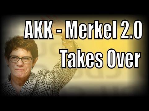 Annegret Kramp-Karrenbauer is the new head of Angela Merkel's CDU Party