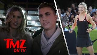 Genie Bouchard Might Have Found Love Over A Super Bowl Bet | TMZ TV